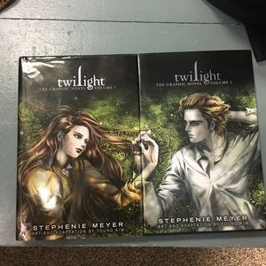 Twilight graphic novels part one and two